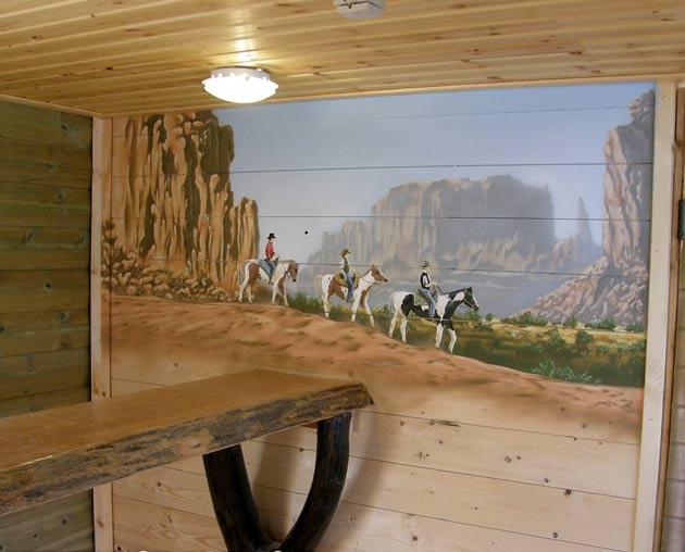 סוסים במדבר