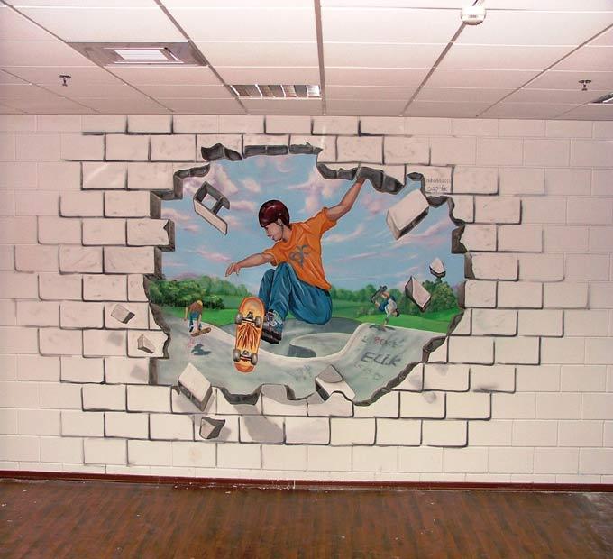 הפריצה מהקיר